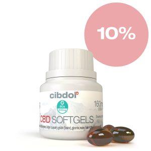 Cibdol - 10% CBD softgel caps (60pcs)