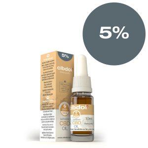 Cibdol - 5% Hemp seed CBD oil (10ml)
