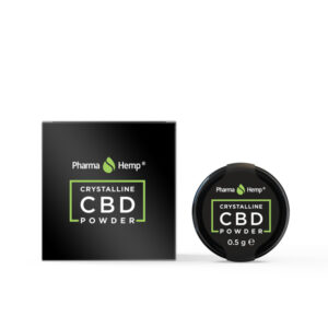 Pharma Hemp Full Spectrum 99.6% CBD Crystalline Powder (0.5g)