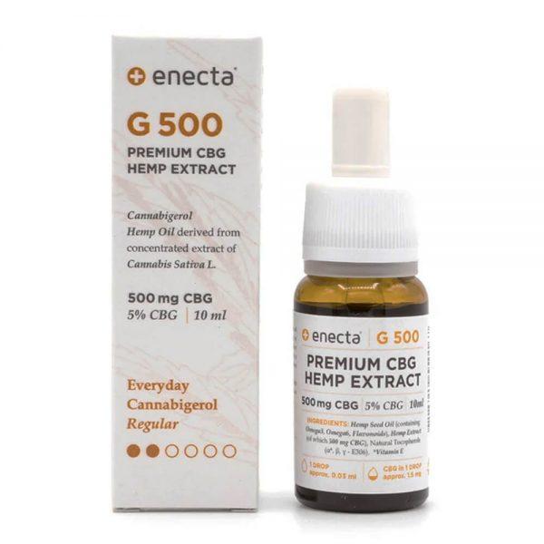 Enecta G500 5% CBG Oil 500mg (10ml)