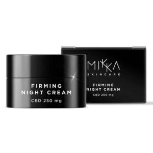 Mikka Night Cream Firming Moisturizer 250mg CBD (50ml)