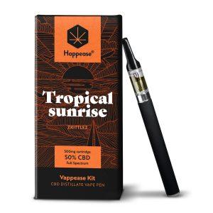 Happease® Classic - Tropical Sunrise 50% CBD vaping pen