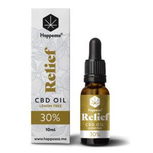 Happease® Relief 30% CBD Oil Lemon Tree (10ml)