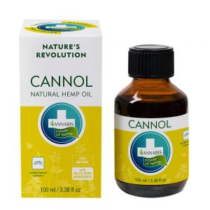 Annabis Cannol Natural Hemp Oil 100ml