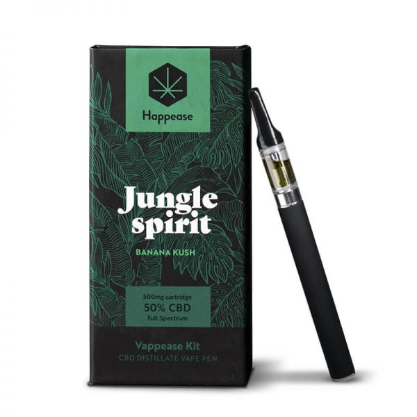 Happease® Classic - Jungle spirit 50% CBD vaping pen