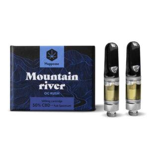 Happease® - Mountain River 50% CBD cartridge (2pcs/pack)