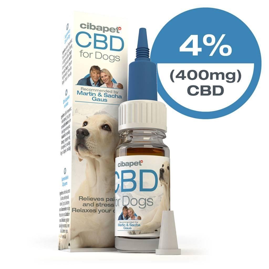 Cibapet 4% CBD oil for dogs (400mg)