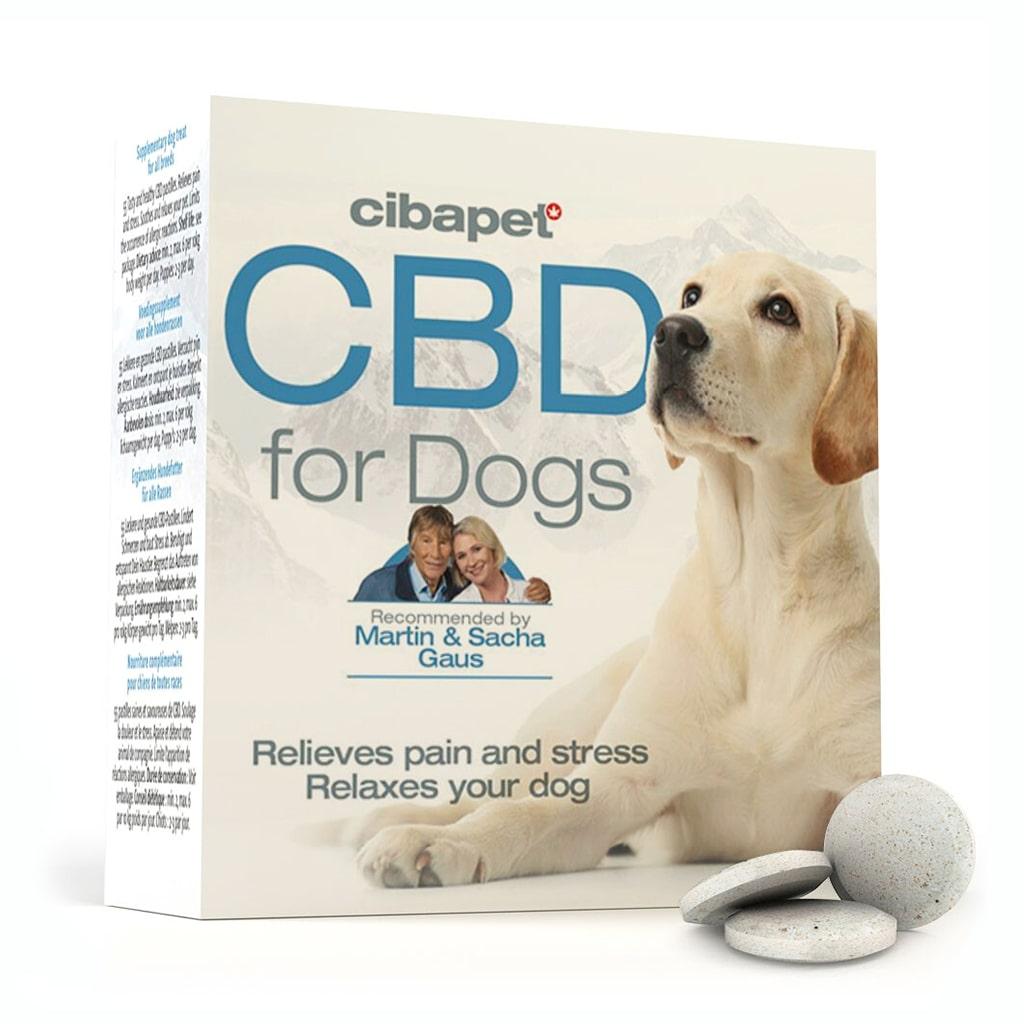 Cibapet CBD tablets for dogs (3.2mg CBD)