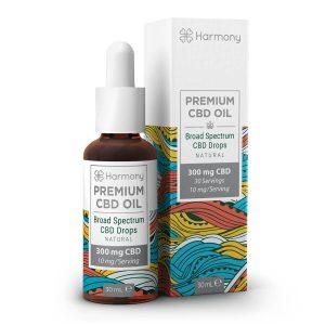 Harmony Selfcare Full Spectrum Drops - Natural Flavor - 300mg CBD (30ml)